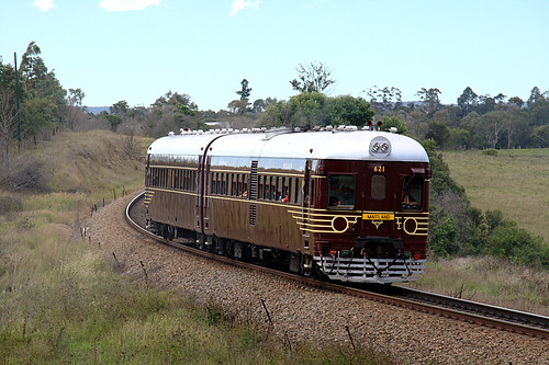 Railcars at Steamfest