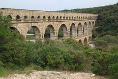 Le Pont du Gard - UNESCO World Heritage site, one of Les Grands Sites de France