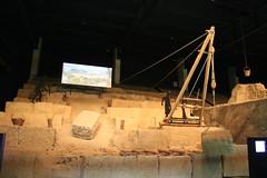Techniques & machines used to construct Le Pont du Gard - UNESCO World Heritage site, one of Les Grands Sites de France