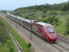 Thalys PBKA-trainset N° 4301 - Disney. - Photo of Beugnâtre