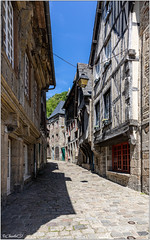 Dinan; La rue du Petit Fort - Photo of Dinan