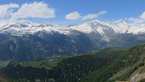 Berner Alps from Binntal (Switzerland)