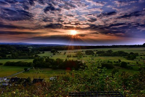 Sonnenuntergang 21.08.