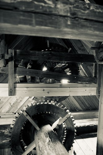 verstecktes Räderwerk / hidden gear train