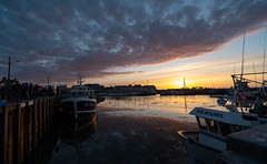 Grandcamp Dock - Photo of Saint-Germain-du-Pert