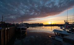Grandcamp Dock