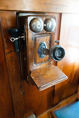 Antique hook phone