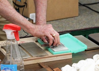 """Sharpening Techniques"" Ed Stuckey & Ed Thomas Demonstrate Sharpening Techniques  June, 2019 Newsletter"