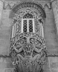 detail from the Pena Palace, Portugal