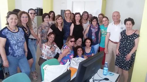 Con i docenti corsisti Esami Finali Roccella