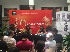 Présentation du 31e Festival International ‪Arte Flamenco à l'Institut Andalou du ‪flamenco de ‪Séville‬‬‬