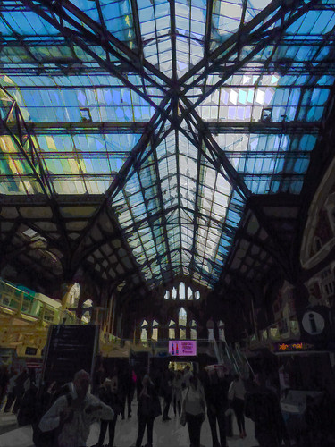 Liverpool St Station in London