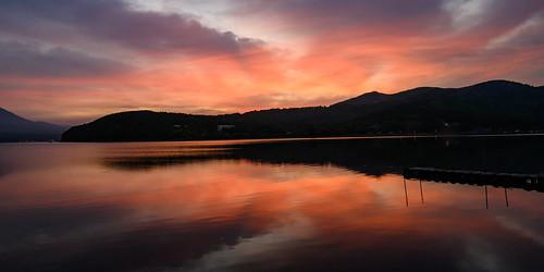 Lake Yamanaka, Early Summer Evening