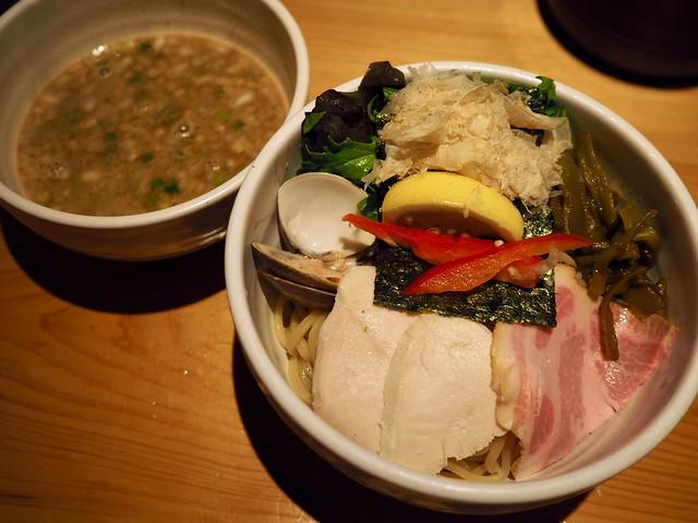 Photo:【121杯目/2019】鶏と蛤の濃厚つけ麺@むぎとオリーブ(東銀座) By arty822