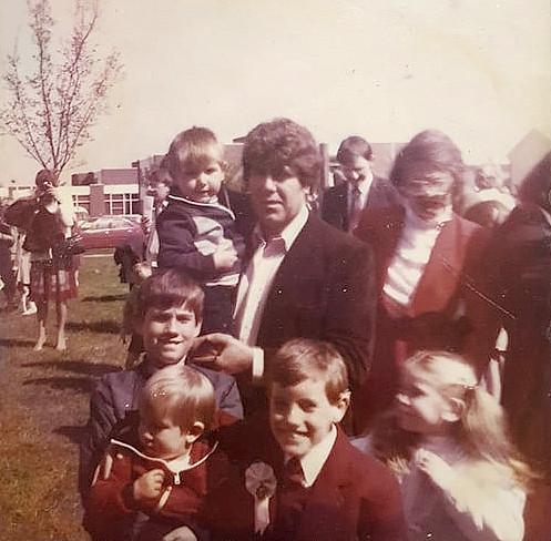 Alan Gorman's communion, St. Marks 1982? Kevin Gorman Mary Gorman and the Gorman Family Thanks to Kevin Paul and the Gorman Family for the Photo