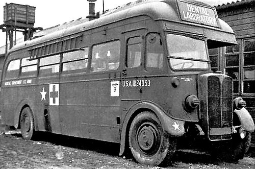 London transport T760 US Army Dental Laboratory 1824053