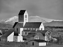 Skalholt Cathedral in Iceland