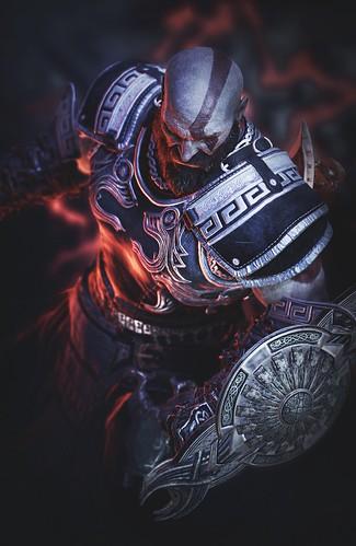 Kratos in Zeus Armor