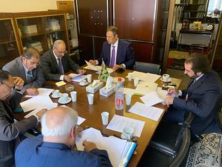 اجتماع لجنة الصياغة