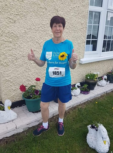 Well done to Ann O Donnell on continuing to raise money for the Hospice. Thanks to Lisa Walsh for the Photo