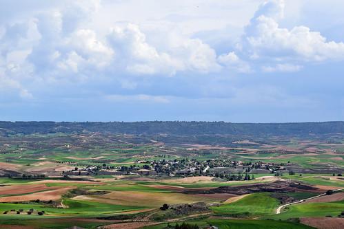 Vista desde la iglesia de San Pedro (Hita)