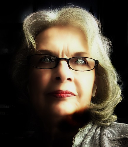 Toronto Ontario - Canada - Portrait Taken at Starbucks Coffee  - Wife of  52 Years  Plus - Ruthie