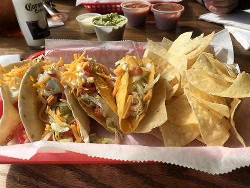 4 chicken Taco's