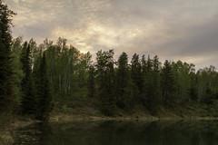 ''Pastel Lake-edge at Dusk'