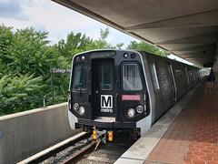 WMATA Metrorail: Kawasaki 7000-series train