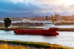 Fs Carrick Departing Aberdeen Harbour 11/06/2019.