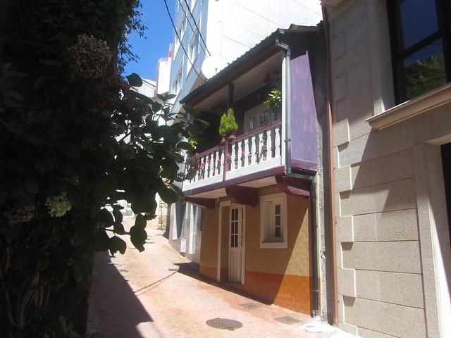 A very pretty  spot,   Rua San  Ramon,  Malpica, La  Coruña,  Galicia,  Spain