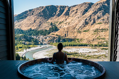 Onsen Hotpools in Queenstown, New Zealand