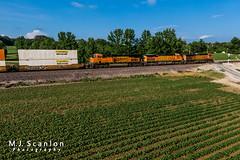 BNSF 4134 | GE C44-9W | BNSF Birmingham Subdivision