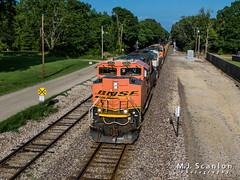 BNSF 9254 | EMD SD70ACe | BNSF Birmingham Subdivision