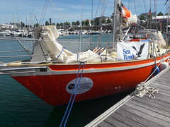 Pre-Race - Istvan Kopar's 35' yacht Puffin