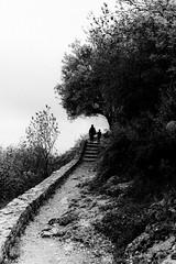 Path to Villehardouin's Castle