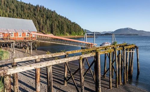 Preview of our holiday in Canada and Alaska. - Abandoned Pier, Icy Straight Point, Alaska