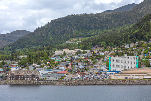 Preview of our holiday in Canada and Alaska. - Ketchikan, Alaska. USA