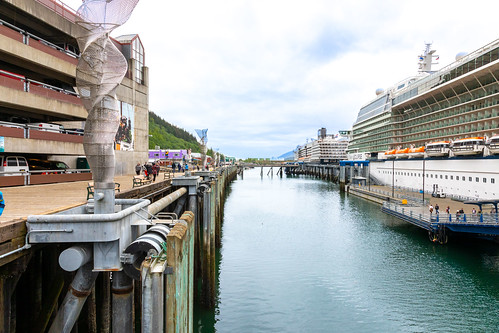 Preview of our holiday in Canada and Alaska. - Juneau, Alaska.