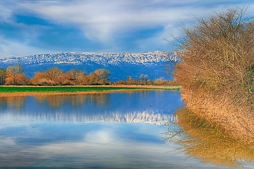 Land,water,sky