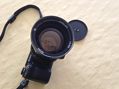 Sony Nex 6 + Cyclop 85 f1.5, Soviet lens,