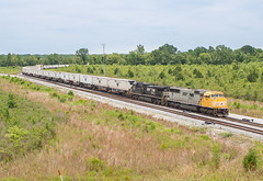 NS 1801 (SD70ACC) Train:201 Rossville, Tennessee