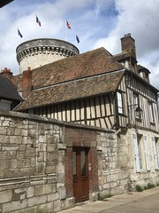 Tour of the Archives, Half-timber houses, Vernon, France, mobile 1