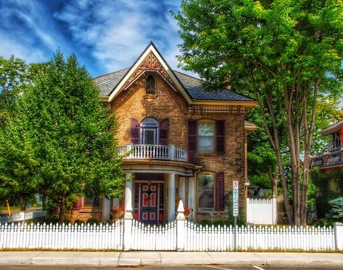 Brantford Ontario - Canada - Gothic House  Architecture -