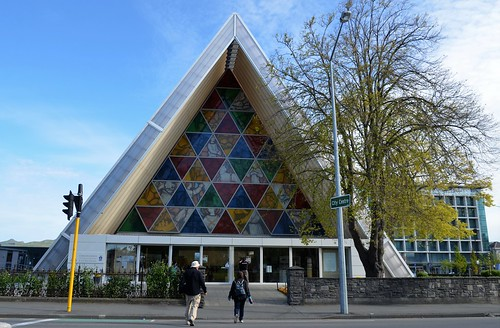 Nueva Zelanda - Christchurch - Transitional Cathedral