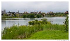 Le village et le lac - Photo of Voulangis