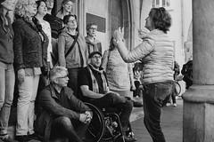 impromptu choir session