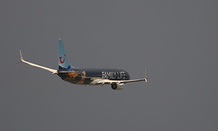 Boeing 737-8K5 , Tui fly ( Family Life Hotels Livery), destination Agadir, OO-JAF - Photo of Pont-à-Marcq