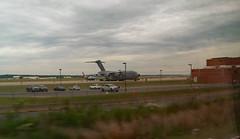 Plane In Quantico, VA.