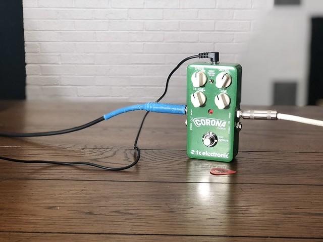 Photo:TC Electronic Corona Chorus Pedal By GuitarChalk